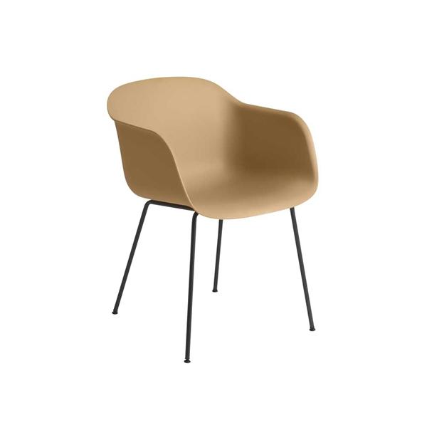 Image of   Muuto Fiber Armchair. Stålben