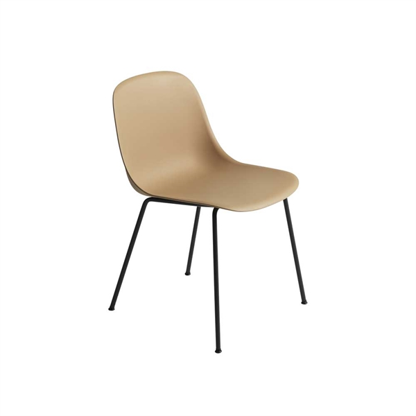 Image of   Muuto Fiber Side Chair. Skalstol. Stålben