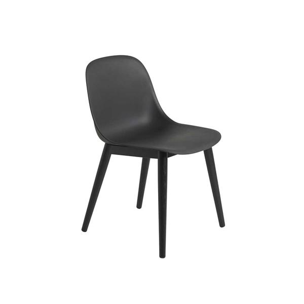 Image of   Muuto Fiber Side Chair. Skalstol. Træben