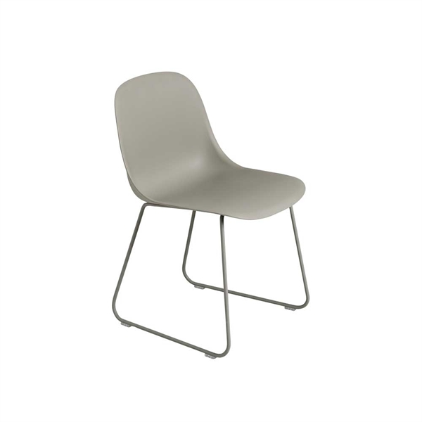 Image of   Muuto Fiber Side Chair. Skalstol. Medestel