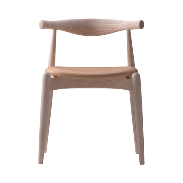 Image of Carl Hansen CH20 Elbow Chair - Bøg - læder