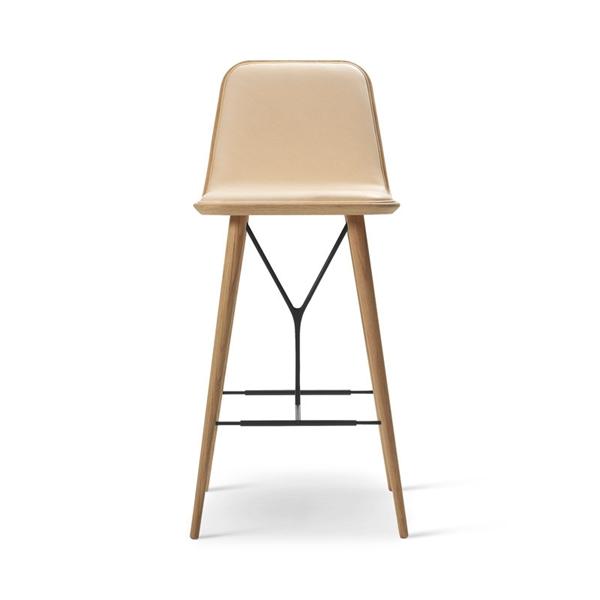 Image of Fredericia Furniture Spine Barstol. 104 cm.