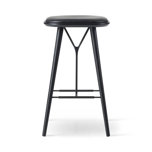 Image of Fredericia Furniture Spine Barstol uden ryglæn. 74 cm.