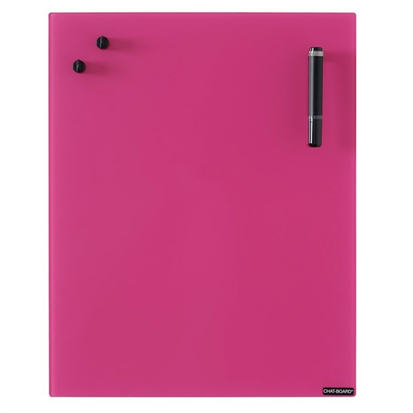 Image of Chat Board Fuchsia Glastavle