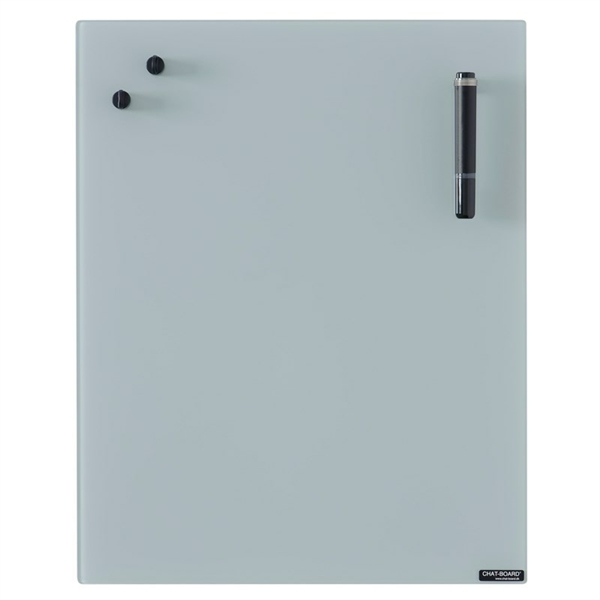 Image of   Chat Board Grey Glastavle