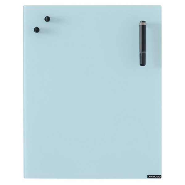 Image of   Chat Board Light Blue Glastavle