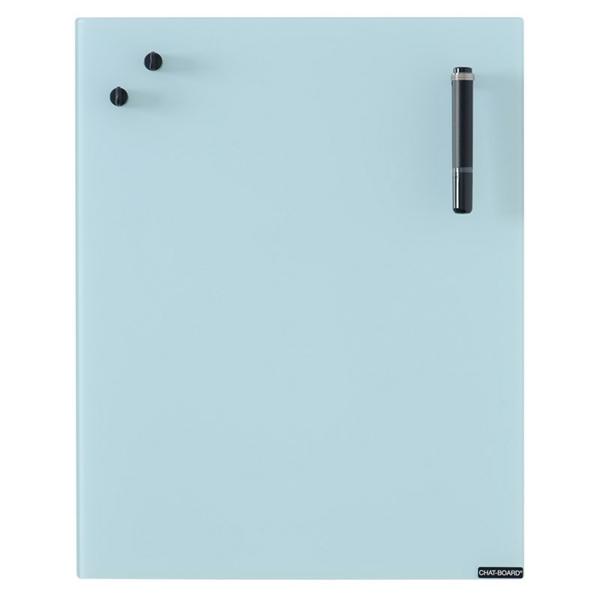 Image of   Chat Board Light Blue Glastavle