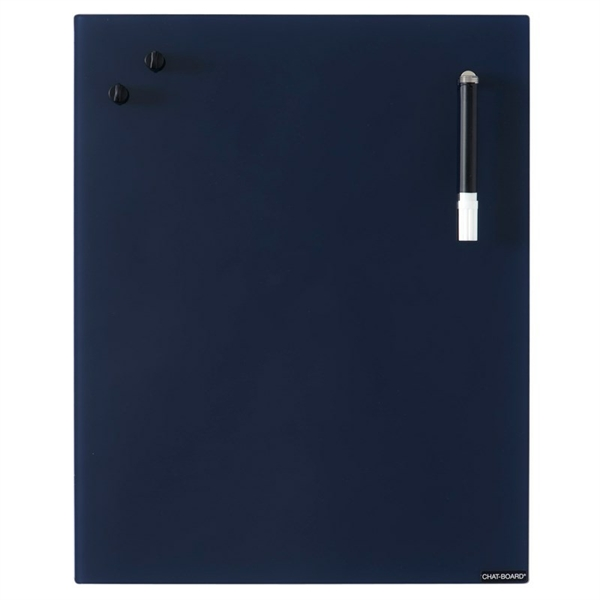 Image of Chat Board Navy Blue Glastavle