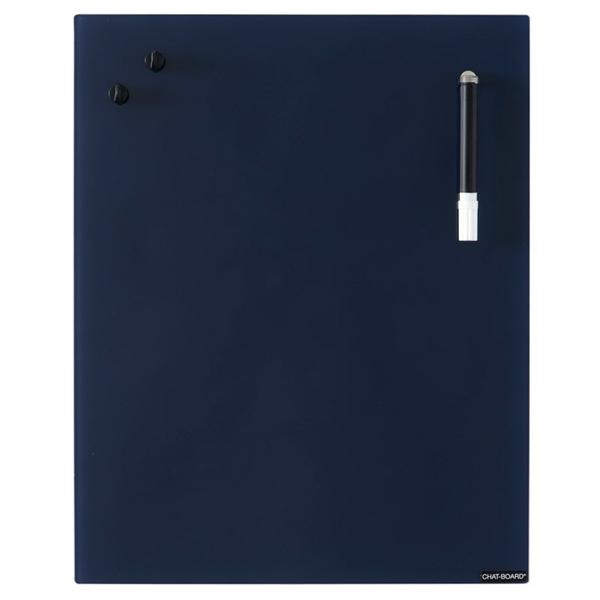 Image of   Chat Board Navy Blue Glastavle