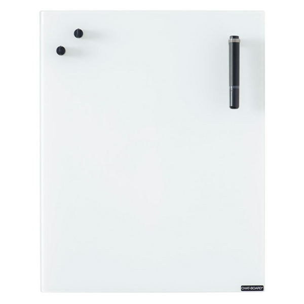 Image of Chat Board Pure White Glastavle