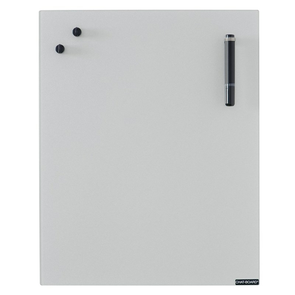 Image of Chat Board Silver Glastavle