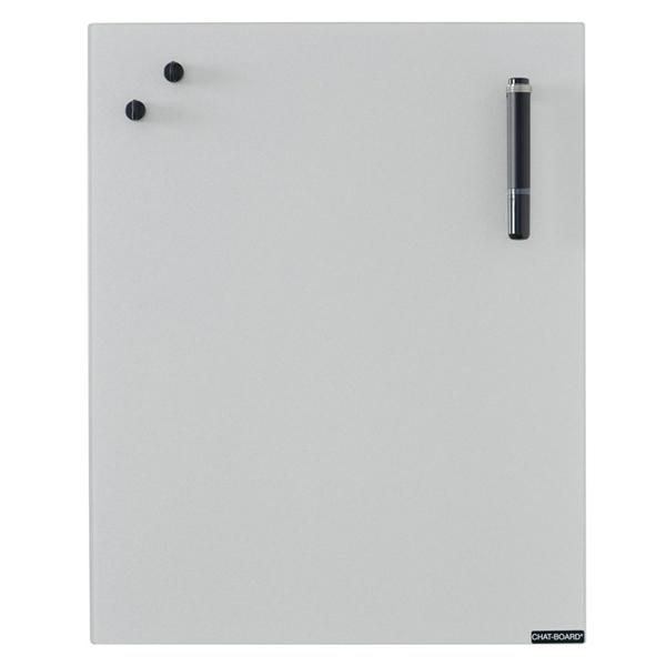 Image of   Chat Board Silver Glastavle