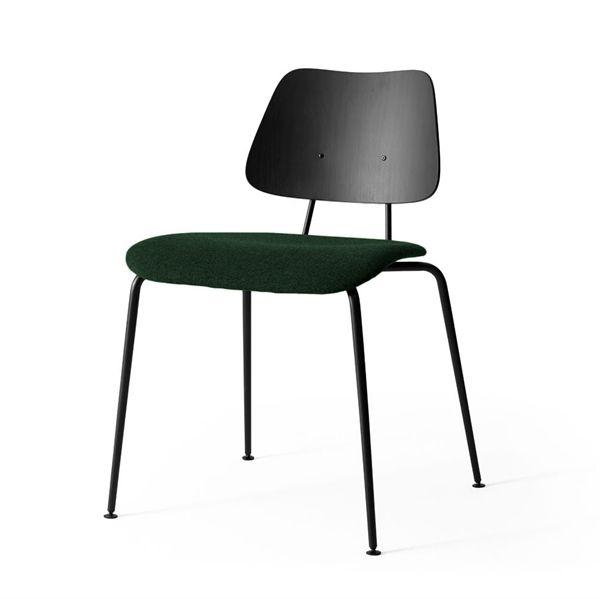 Image of   Labofa Heritage - 11.1 stol - Sort malet - Polstret sæde Remix 2