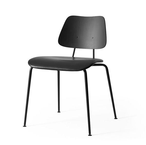 Image of   Labofa Heritage - 11.1 stol - Sort malet - Læder sæde Shade